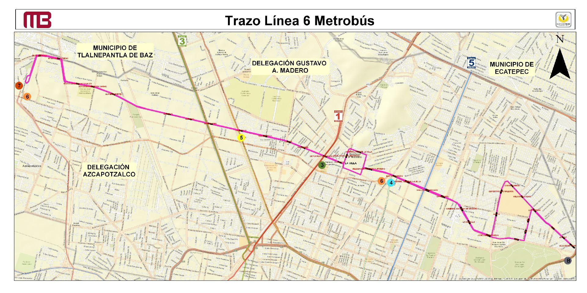 trazo-línea-6-metrobús